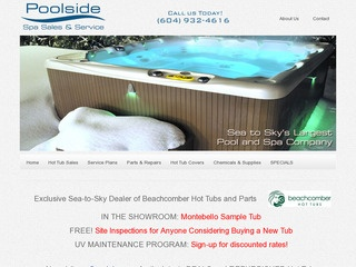 Poolside Spa Services :: Whistler Services :: Property & Commercial