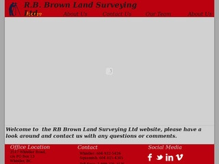 R.B. Brown Land Surveying Ltd. :: Whistler Services :: Business & Professional