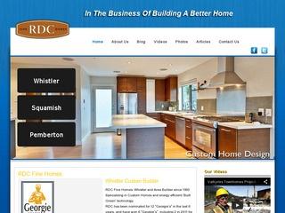 RDC Finehomes Inc. :: Whistler Services :: Construction & Trades