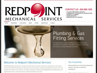 Redpoint Mechanical Services :: Whistler Services :: Construction & Trades