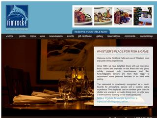 Rim Rock Cafe :: Whistler Creek :: Fine Dining