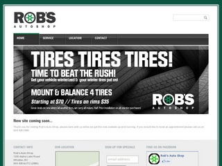 Rob's Auto Shop :: Whistler Services :: Business & Professional