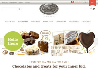 Rocky Mountain Chocolate Factory :: Whistler Village :: Fine Chocolate