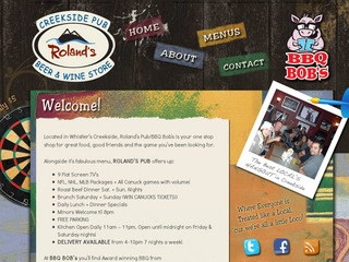 Roland's Creekside Pub :: Whistler Pubs :: Bars in Whistler
