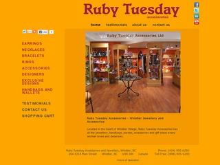 Ruby Tuesday Accessories Ltd. :: Whistler :: Shopping