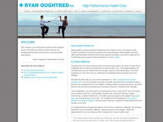 Dr. Ryan Oughtred, N.D. :: Whistler Healthcare :: Massage & Medicine