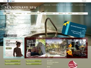 Scandinave Spa Whistler :: Whistler Alpine Meadows :: Luxury Spa