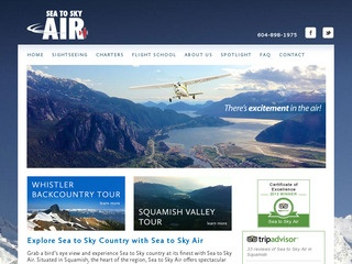 Sea to Sky Air :: Whistler Transportation :: Getting to Whistler