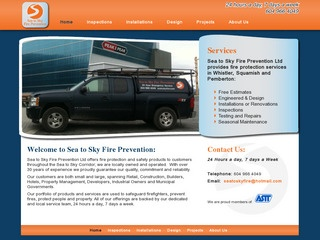Sea to Sky Fire Prevention :: Whistler Services :: Property & Commercial