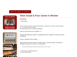 Shaw Carpet & Floor Centre :: Whistler :: Shopping