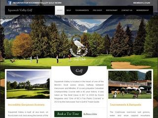 Squamish Valley Golf Club :: Whistler :: Golf Courses