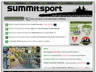 Summit Sport :: Whistler :: Shopping