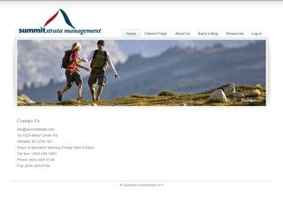 Summit Strata Management Ltd. :: Whistler :: Real Estate