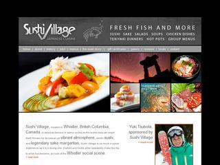 Sushi Village :: Whistler Village :: Casual Dining
