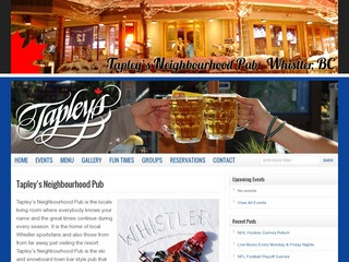 Tapley's Neighbourhood Pub :: Whistler Pubs :: Bars in Whistler