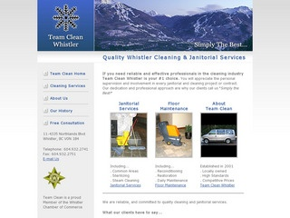 Team Clean :: Whistler Services :: Business & Professional
