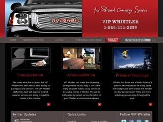 VIP Whistler :: Whistler Village :: Chauffeur Service