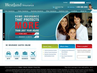 Westland Insurance Group Limited :: Whistler Services :: Finance & Insurance