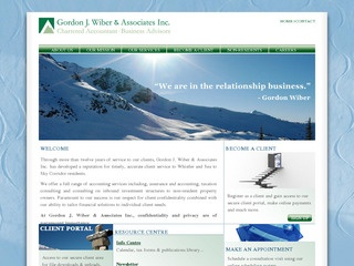 Gordon J. Wiber & Associates Inc. :: Whistler Services :: Business & Professional