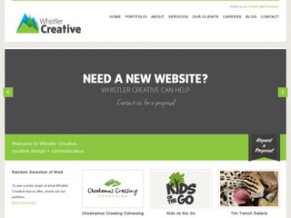 Whistler Creative :: Whistler Services :: Business & Professional