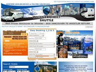 Whistler Direct Shuttle :: Whistler Village :: Shuttle Service
