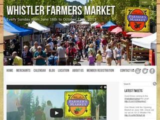 Whistler Farmer's Market :: Whistler :: Shopping