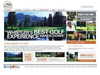 Whistler Golf Club :: Whistler :: Golf Courses