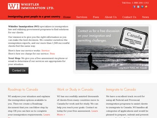 Whistler Immigration Ltd. :: Whistler Services :: Business & Professional