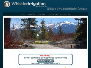 Whistler Irrigation Services Ltd. :: Whistler Services :: Property & Commercial