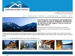 Real Estate Association of Whistler :: Whistler :: Real Estate