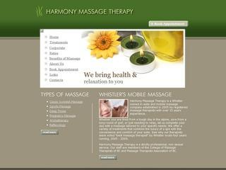 Harmony Massage Therapy :: Whistler Healthcare :: Massage & Medicine