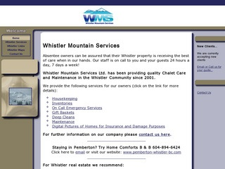 Whistler Mountain Services :: Whistler Services :: Business & Professional