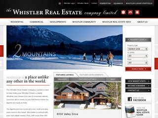 Whistler Real Estate Company Ltd :: Whistler :: Real Estate
