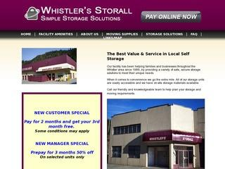 Whistler's Storall Ltd. :: Whistler Transportation :: Getting to Whistler