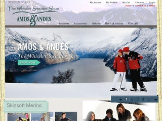 Amos & Andes :: Whistler Village  :: Clothing