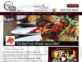 Whistler Tasting Tours :: Whistler Tours :: Activities in Whistler
