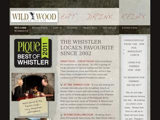 Wild Wood Bistro & Bar :: Whistler Village North :: Casual Dining